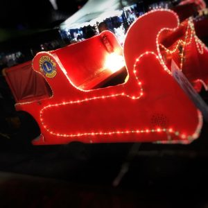 Paddock Wood Lights Up Sleigh